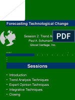 Forecasting Technological Change