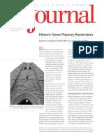 Vol 31 N2 Historic Stone Masonry