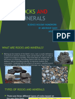 Project on Rocks and Minerals