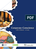 Corporate Conscience CSR in Pakistan