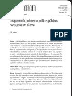 SCALON Desigualdade Probreza e Politicas Publicas p9 68