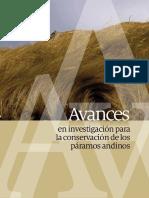 Conservación Páramos Andinos