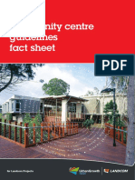 Community Centre Guidelines Fact Sheet 20161