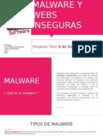 Malware y Webs Inseguras