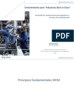 Programa Mantenimiento WCM