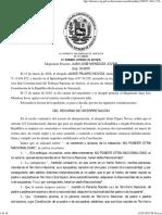20161215, TSJ-SC Interpretación Artículo 227 Constitucional