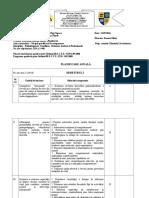 Planificare Psihodiagnoza (VIII)