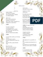 Canciones Célula # 3