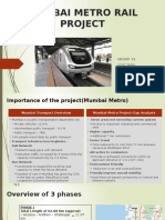 Mumbai Metro Rail Project