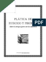 Plática de Eudoxio y Pirófilo