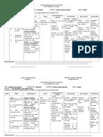 Grado Sexto Plan de Clase 2015