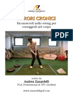 7 Errori Cronici nel golf