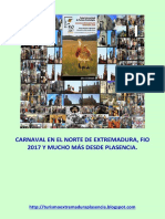 Carnaval en El Norte de Extremadura y Fio 2017