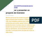 Como hacer Proyectos de Inversión.docx