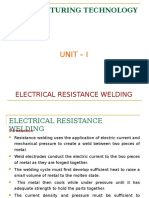 Electron resistance welding