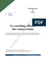 Coaching Des Commerciaux