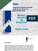 CDHU - Manual de Projetos