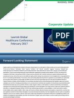 ZGNX_2017_Other_SL_February+2017+Investor+Presentation+-+Leerink+Global+Healthcare+Conference_021520171