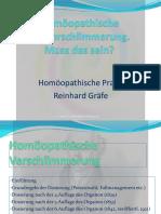 Vortrag Dosierung in Der Homöopathie