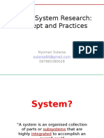 Health System Research - MIKM 28102014