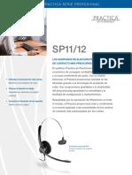 Folleto Diadema Plantronics SP11