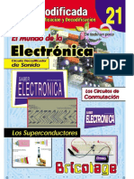 21-El Mundo de La Electronica TV Audio y Video