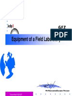 4 Field Lab Equipment