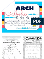 March 2017 Catholic Kids Bulletin