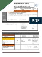 Plan y Programa Evaluacion 1º