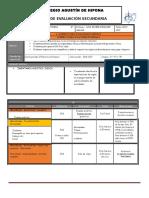 Plan y Programa Evaluacion 2º