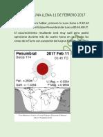 Colombia Luna Llena 11 de Febrero 2017 Doc Final