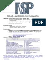Temasp Carta de Apresentação e Cadastro