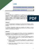 Reglamento XIV Congreso Regional