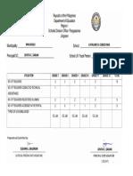 Lrmds Utilization Report