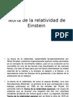 Teoría de La Relatividad de Einstein