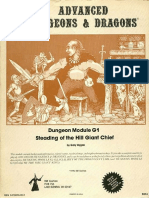 TSR 9016 - G1 - Steading of the Hill Giant Chief