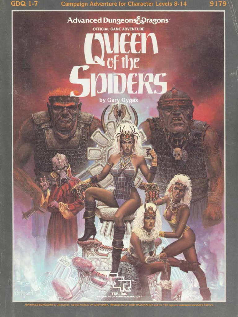 TSR 9179 - GDQ1-7 - Queen of the Spiders pdf   Drow