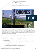 Drones for Field Microwave Path Surveys _ DragonWave Inc