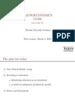 Lecture12 Handout - CMU MACROECONOMICS