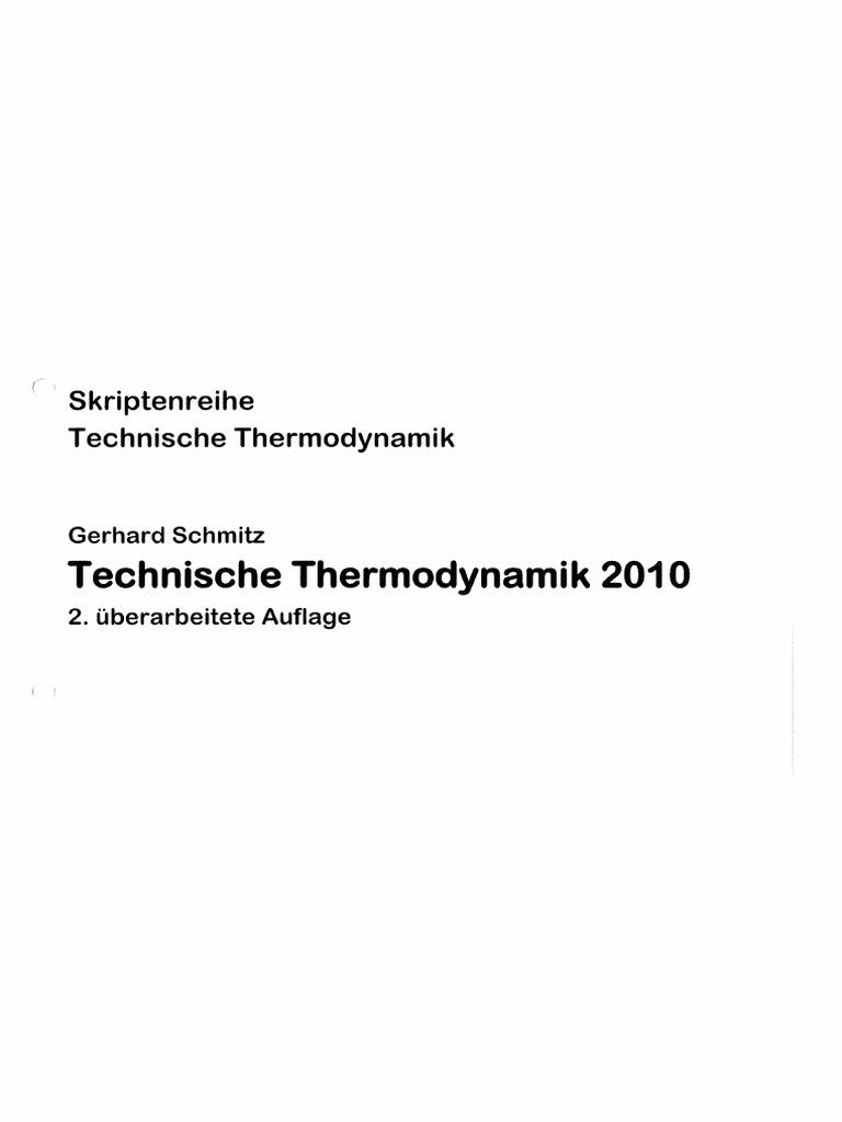 Charmant Thermodynamik Des Kessels Galerie - Elektrische Schaltplan ...