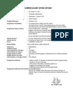 2. CV  - Dr. Istadi