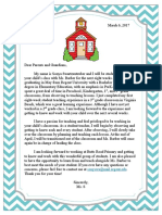 letter to the parents ued 495-496