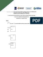 Avaliação Comentada - Ensino Fundamental Ling. Portuguesa