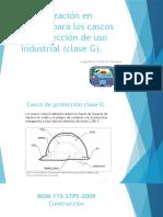 Normalización en México Para Los Cascos de Protección.