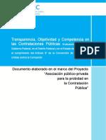 Transparencia Publicas Onudc