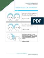 Ejercicios Reeducacion Vestibular