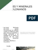 Filones y Minerales Filonianos