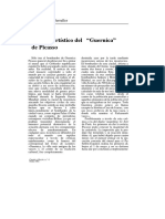 Analisis Artístico Del Guernica - Francisco Calvo Serraller