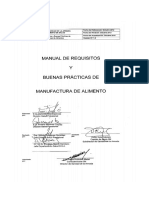 Manual de Requisitos Buenas Practicas de Manufactura de Alimento 2