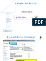 Notificacion evento adverso